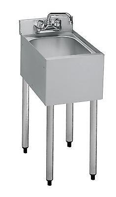 Krowne Metal 18-1c 18.5d Underbar Hand Sink 10 X 12 X 7 Bowl 1 Compartment