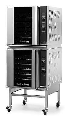 Moffat E32d52c Electric Double Convection Oven 5 Full Size Pan Mobile Stand