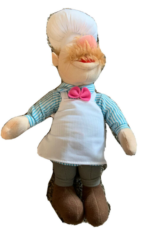 2008 12 inch Plush Swedish Chef Toy Factory Muppets