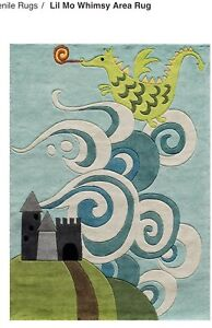 Lil Mo whimsy area rug 8x10