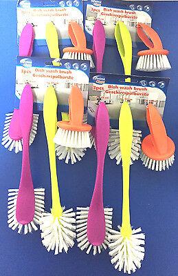 EF 4x 3er Geschirrspülbürste,Abwaschbürste,Haushaltshelfer,Putzbürste,Bürste