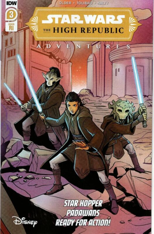 STAR WARS HIGH REPUBLIC ADVENTURES #3 1:10 VARIANT RETAILER INCENTIVE IDW