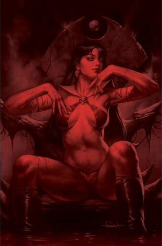 VENGEANCE OF VAMPIRELLA #18 PARRILLO 1:25 TINT VIRGIN VARIANT DYNAMITE 5/19/21