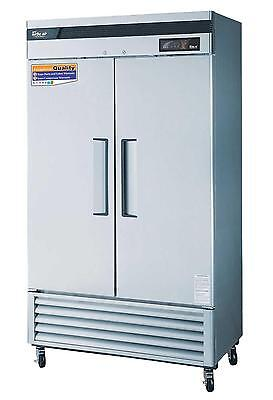 Turbo Air 35 Cu.ft Commercial Freezer W 2 Solid Doors Tsf-35sd