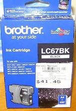 NEW Ink Cartridge for Brother LC67BK Woy Woy Gosford Area Preview