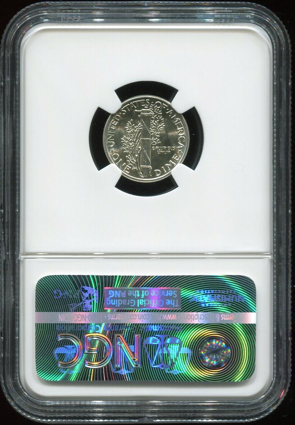 1943 10C MS 66 NGC USA coin