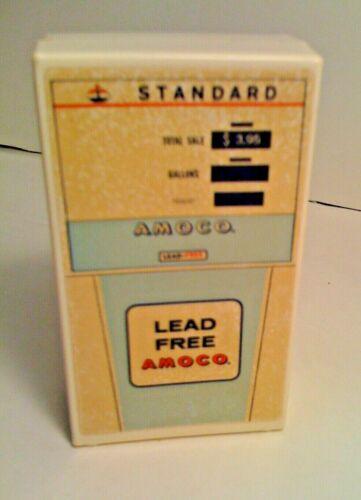 1970 Amoco Lead-Free Standard Oil Plastic Coin Bank