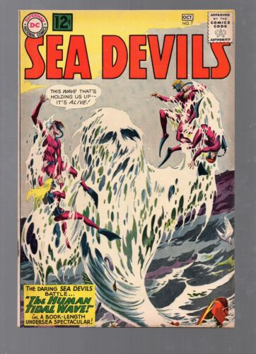 SEA DEVILS 7      AWESOME RUSS HEATH COVER!         LOW PRICE!