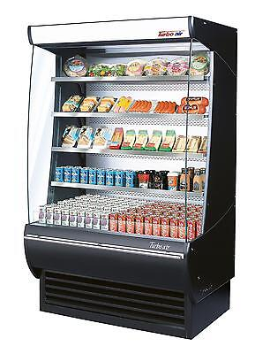 Turbo Air 60 Vertical Open Display Refrigerated Merchandiser Case Tom-60-dx