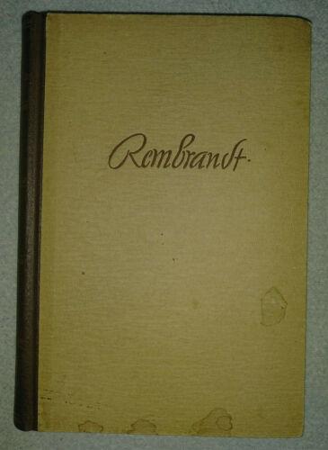 Rembrandt - Theun de Vries (Henschelverlag Berlin, 1954)