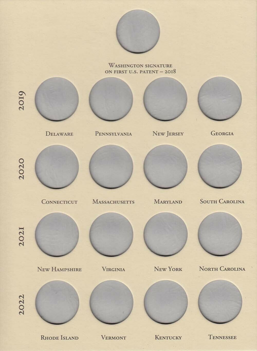 Littleton Coin Folder For New Innovation Dollars 2018 2032 Archival Album LCF50