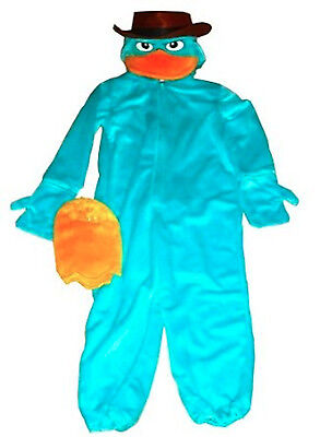 Agent P Perry Platypus Disney Theme Parks Costume NWT XS Extra Small 4 5 NEW