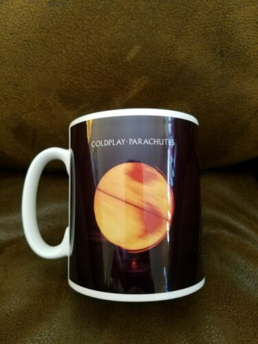 Coldplay PARACHUTES Mug Cup Coffee Tea Ceramic 4