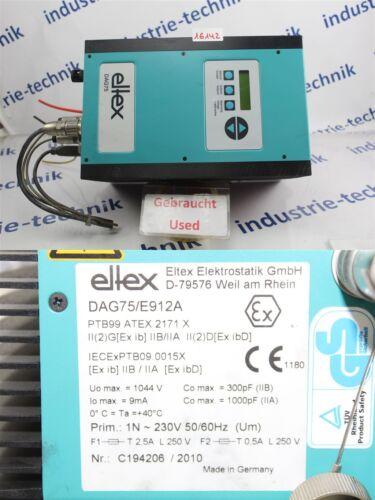 ELTEX DAG75 Hochspannungsgenerator Dag75/E912a Top Condition