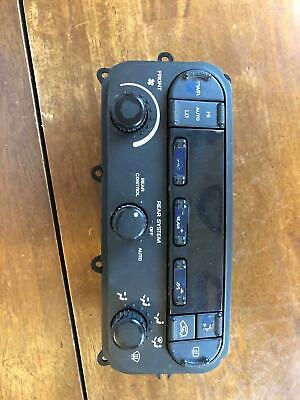 Heater A/c Control CHRYSLER TOWN CNTRY 05 06 07