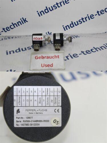 Pepperl Fuchs 126677 Encoder RVI58N-014ABR66N-05000