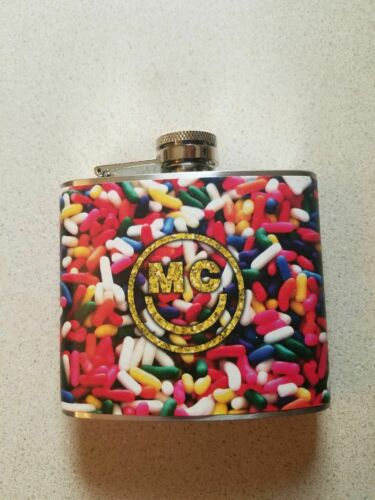 Miley Cyrus Flask Sprinkles with Logo (5oz) Only sold at Live Concerts Exclusive