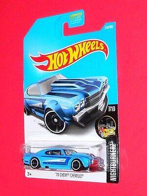 2017 Hot Wheels  '70 Chevy Chevelle  #310 Nightburnerz DVC37-D9B0P  P case