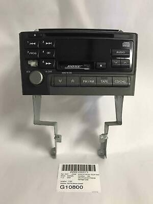 2000 Nissan Maxima AM-FM-Stereo-Cassette-CD Bose Audio System From 3/00 PN-2281D Nissan Maxima Stereo