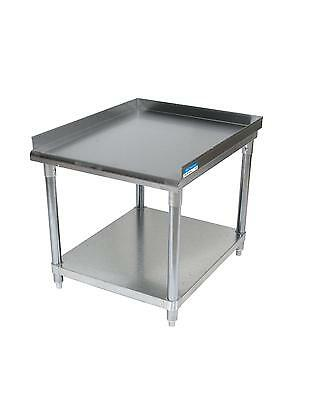Bk Resources 19x 30 Stainless Steel Equip Stand With Undershelf Riser