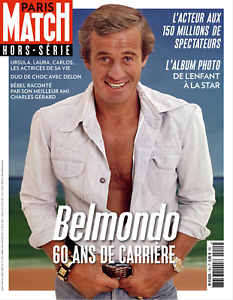 Paris Match hors-série (en version PDF) - J.-P. Belmondo, 60 ans de carrière