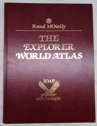 Rand McNally The Explorer World Atlas 1991