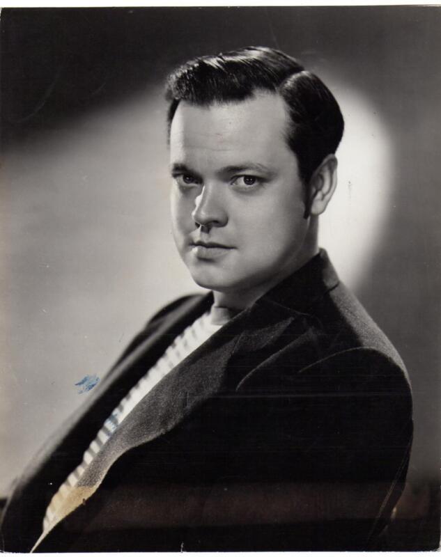 Director ORSON WELLES , Great Portrait!