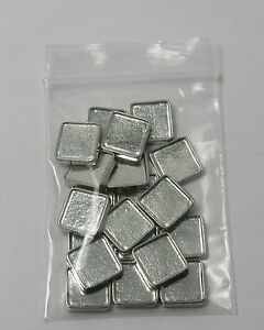 10mm Blank Square Floating Charms for Glass Lockets DIY Photo Charms - lot of 20