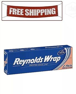 Reynolds Wrap 12 Aluminum Foil 250 Sq. Ft 2 Ct.
