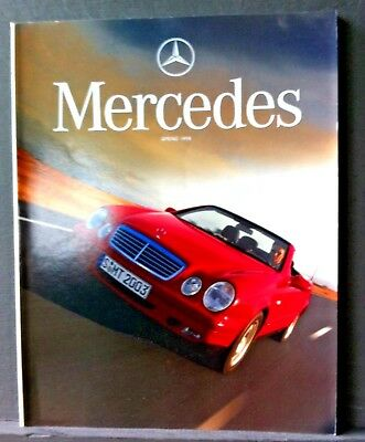 MERCEDES Magazine - Spring 1998 - CLK Cabriolet, A-CLASS and FI Team & cars.