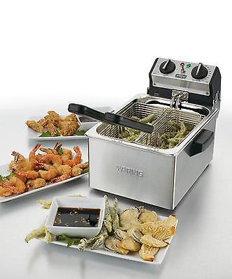 Waring Wdf75rc 8.5lb Countertop Electric Fryer W Timer 120v