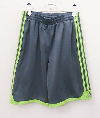 Adidas Boys Junior Kids Climacool Sports Football Gym Training Shorts L 14-16