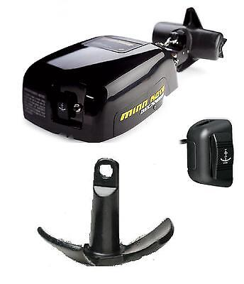 Minn Kota Deckhand 40 Electric Anchor Winch w/ 15lb & Switch 12V 1810140 1810150