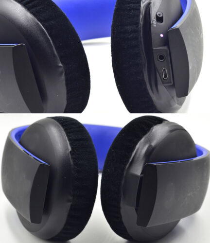 cushion Ear pads for SONY gold Wireless PS3 PS4 7.1 Virtual CECHYA-0083 headset