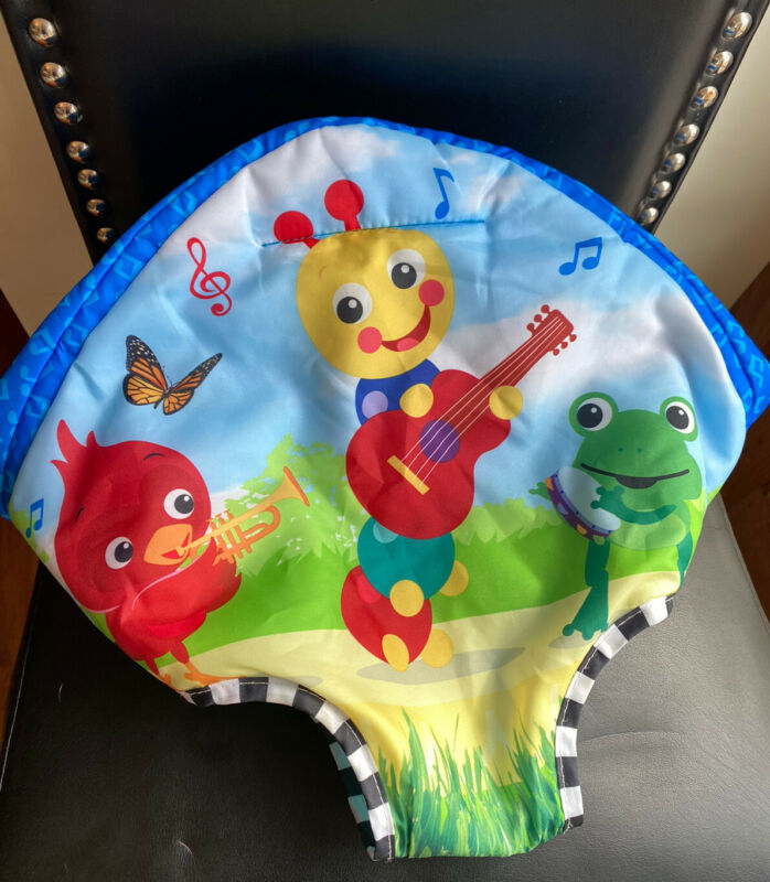 Baby Einstein Neighborhood Symphony Jumper • Seat Cover Pad • Replacement Part