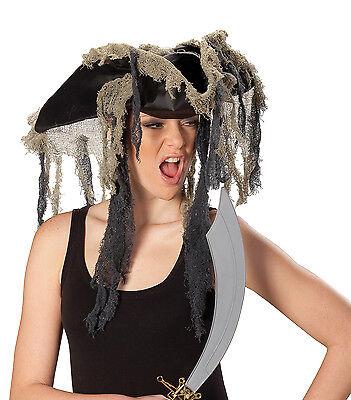 Piratenhut Pirate of Ocean Zombie Pirat Kostüm Zubehör - Piraten Hut Kostüme