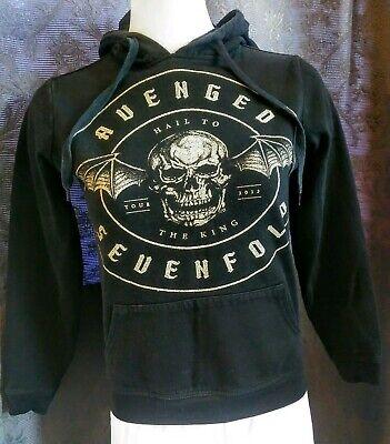   Bravado AVENGED SEVENFOLD Hail to the King Tour 2013 Sweatshirt Hoodie Black