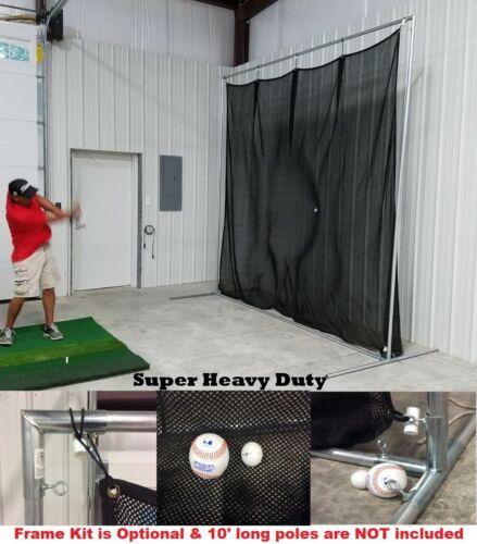 Golf Baffle Net Baseball Fielders Screen or Backstop 10