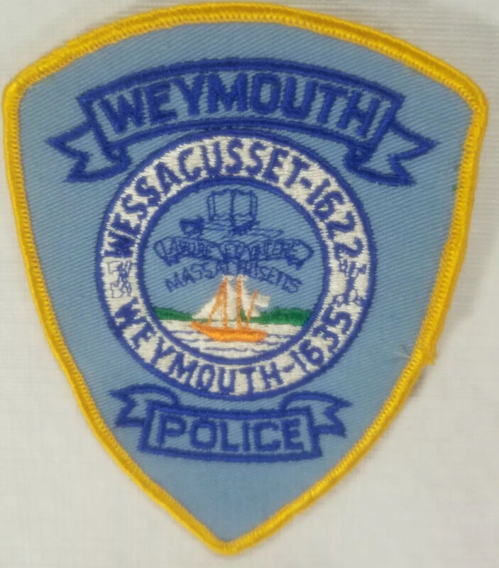 Weymouth Massachusetts Police Patch