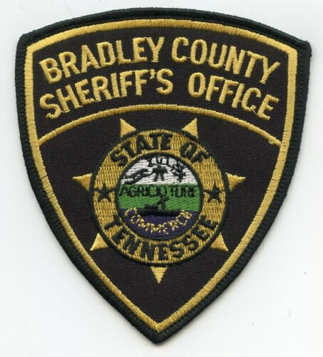 BRADLEY COUNTY TENNESSEE TN SHERIFF POLICE PATCH