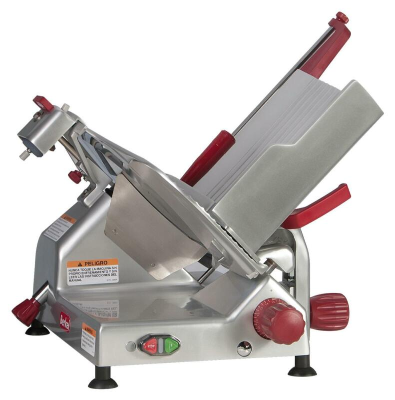 "Berkel 829e-plus 14"" 1/2 Hp Manual Gravity Feed Economy Series Slicer"