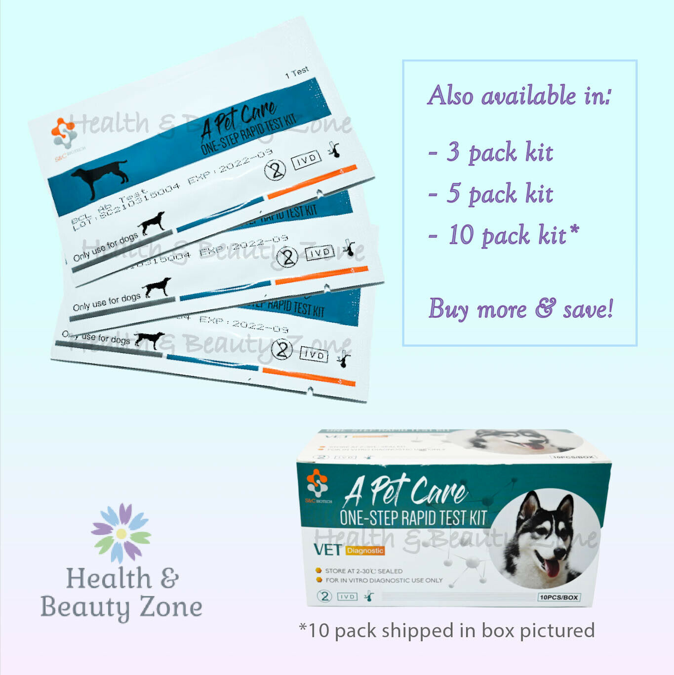 Canine BRUCELLOSIS Antibody Rapid TEST Kit - Dog Brucella (BCL)