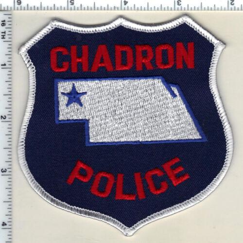 Chadron Police (Nebraska)  Shoulder Patch  - new from 1989