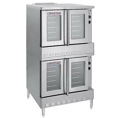 Blodgett Sho-100-g Dbl Standard Full Size Double Deck Gas Convection Oven