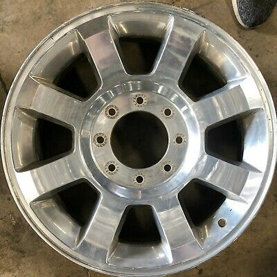 20 INCH 2008 2009 2010 FORD F250 F350 SRW OEM POLISHED ALLOY WHEEL RIM 3693 B- Spoke Polished Alloy Wheel