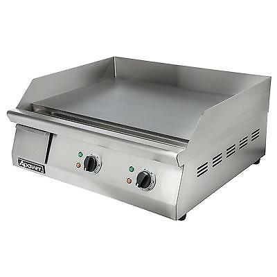 """Adcraft GRID-24 24"""" Countertop Electric Thermostatic Griddle"""
