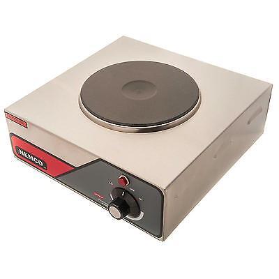 Nemco 6310-1-240 Single Burner Electric Range Hot Plate - 240v