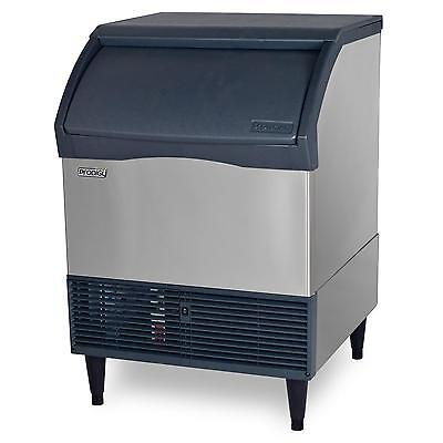 Scotsman Cu2026sa-1 Undercounter 200lb Ice Maker Machine W 80lb Bin Air Cool