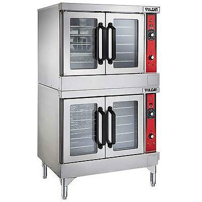 Vulcan Vc44ed Vc-series Double Stack Electric Convection Oven - 208240v