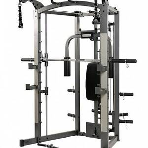 Smith Machine with everything including bench, weights, leg exts Hendon Charles Sturt Area Preview